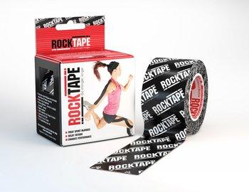 Rocktape Black Logo 5cm x 5m